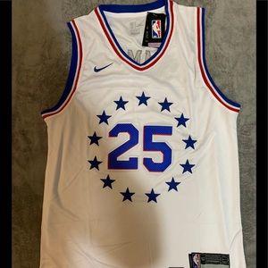 Ben Simmons #25 Philadelphia 76ers Jersey